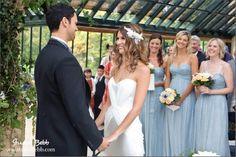 Wedding ceremony in the winter garden at The Dairy Waddesdon @Waddesdon Manor