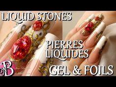 Nail art - Liquid Stones - Pierres liquides au gel UV