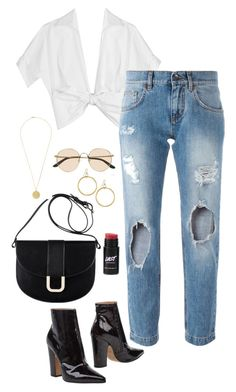 dbf564437b478 A fashion look from April 2017 featuring michael kors tops