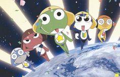 Keroro Platoon - Keroro Wiki - Keroro Gunso, Sgt. Frog episodes, characters and more