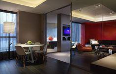 Marvelous suite, W Hong Kong. © Starwood Hotels & Resorts Worldwide