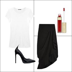 Architectural Skirt and  T-Shirt