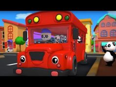 The Wheels On The Bus   Nursery Rhymes Songs For Childrens And Babies - YouTube