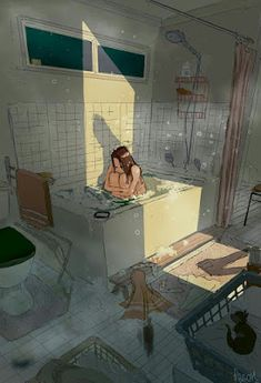Find images and videos about girl, art and illustration on We Heart It - the app to get lost in what you love. Aesthetic Anime, Aesthetic Art, Pretty Art, Cute Art, Character Illustration, Illustration Art, Design Illustrations, Pascal Campion, Sad Art