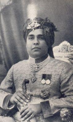 1929 - 1949 H.H. Maharajadhiraj Maharawat Shri Sir Ram Singhji II Bahadur, Maharawat of Partabgarh