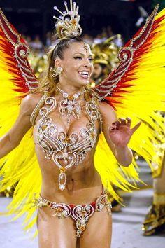 Carnaval de Rio 2010, Brazil.