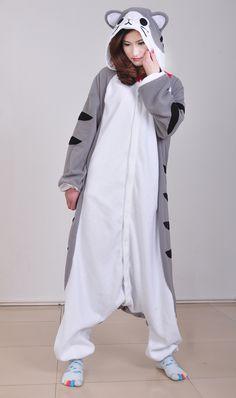 Japan fleece Kawaii Kigurumi Animal Pajamas Pyjamas Costume cosplay  Kigurumi Adult Unisex wholesale sleepsuit Cheese d403b405905f3