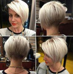 Coupes Courtes et Couleurs Sublimes Pour Cheveux Courts | Coiffure simple et facile