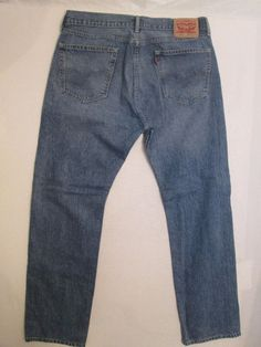 # 478 * Size 36 X 34  * Levi Strauss & Co. * 505 *  Classic Straight Fit Jeans #LeviStraussCo #ClassicStraightLeg