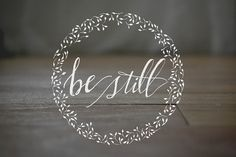 Let be and be still, and know (recognize and understand) that I am God. I will be exalted among the nations! I will be exalted in the earth! (Psalm 46:10 AMP)