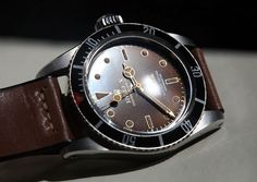 Rolex 6538 Red Dial by Watchonista.com, via Flickr