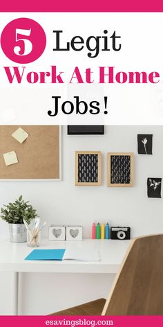 5 legit work at home jobs job work check and frugal