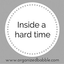 """New post 9/13/15 -  """"Inside a hard time"""""""
