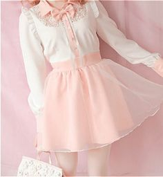 Cute.girly/love the skirt