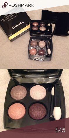 Chanel Tisse Camelia #202 Brand New Quadra Eyeshadow CHANEL Makeup Eyeshadow