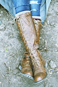 Boots n socks | Gentri Lee