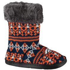 new style ef9dd b3ded Denver Broncos Women s Aztec Boots