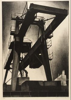 The Diesel Era Lithographs of Louis Lozowick (1920′s to 1940′s) – SOCKS