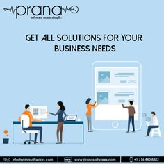 Prana Softwares is a software development company that offers you custom software solutions for enterprises. Discuss your software requirements with the expert. Android Application Development, Software Development, Innovation Strategy, Mobile Technology, Blockchain Technology, Financial Institutions, Digital Marketing Strategy, Business Goals
