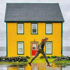 Amoureux de plein air, regardez ça. Prince, Newfoundland And Labrador, Canada, Plein Air, The Locals, Tourism, Places, Color, Instagram