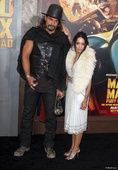 """Lisa Bonet et Jason Momoa - Première du film """"Mad Max - Fury Road"""" à Los Angeles le 7 Mai 2015"""
