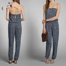 Strapless All-over Floral Printed Long Sexy 2014 Jumpsuits Best Seller follow this link http://shopingayo.space
