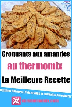 Crunchy almonds with Thermomix - The crunchy almonds in Thermomix respect the purest tradition of the South where they come from. Thermomix Recipes Healthy, Thermomix Desserts, Healthy Low Carb Recipes, Healthy Meals For Kids, Healthy Dessert Recipes, Healthy Chicken Recipes, Healthy Dinner Recipes, Dog Biscuit Recipes, Dog Recipes