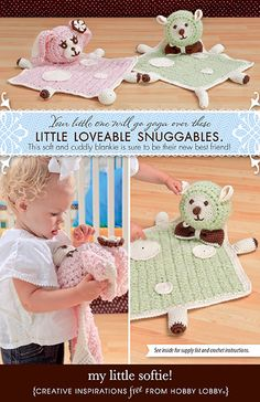 Hobby Lobby Project - My Little Softie! - Crochet Blanket Instructions ~ free pattern