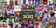 Free Stitch11 Patterns from 2013