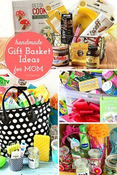 Great Gift Ideas For Mothers Day Cant Think Of Something To Give Your Mom Try One These Basket