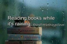 Raining and books