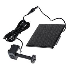 Docooler 7V 160MA SolarPower Water Pump Garden Fountain Pool Water Pump Cycle >>> Want additional info? Click on the image. (This is an affiliate link) #HomeDecorIndoorFountainsandAccessories