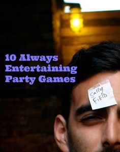 Entertaining Party Games