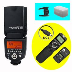 (86.88$)  Know more - http://aij5i.worlditems.win/all/product.php?id=32784886758 - YONGNUO YN560III YN560-III Wireless Flash Speedlite & PIXEL TW-283 DC2 Timer Remote Control For D5200 D5100 D3300 D3200 D750 D90