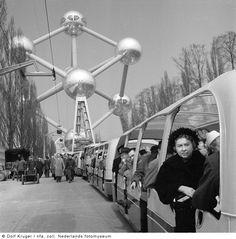 Expo 58, tranportation
