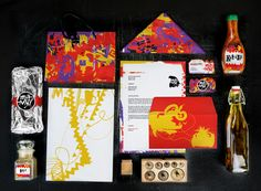 Laszlo Aron Boncz on Behance Restaurant Branding, Brand Identity, Contemporary Art, Mexican, Behance, Packaging, Logos, Holiday Decor, Drawings