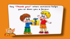 Flashcards for children - Good Manners