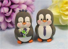 grey penguin cake - Google Search