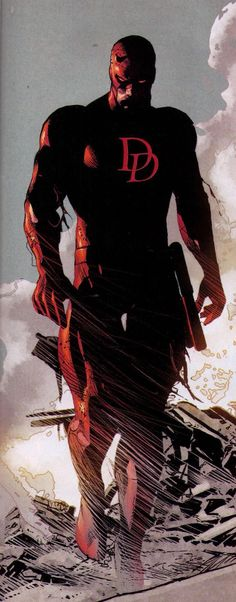 Daredevil by Mike Deodato [Marvel] Comic Book Characters, Comic Book Heroes, Marvel Characters, Comic Character, Comic Books Art, Comic Art, Heros Comics, Marvel Comics Art, Marvel Vs