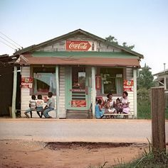 '50's...     small town in the south...