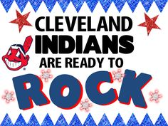 Cleveland Indians Rock Poster Idea