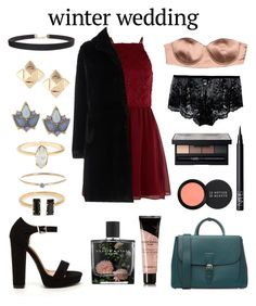 """Cutie"" by maggiethequeen on Polyvore featuring New Look, Baldinini, Burberry, Elisabetta Franchi, Cosabella, Humble Chic, Valentino, Carolee, Jennifer Meyer Jewelry and NARS Cosmetics"