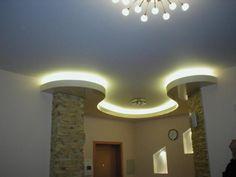 meilleurs faux plafond lumineux Led Ceiling Lights, Wall Lights, Plafond Design, Ceiling Design, Architecture, Decoration, Living Room Decor, Mirror, Bathroom