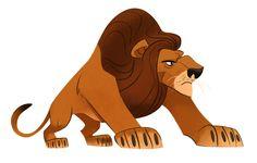 Lion by elgunto.deviantart.com on @deviantART