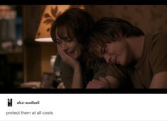 Protect them - Joyce and Jonathan Byers from Stranger Things