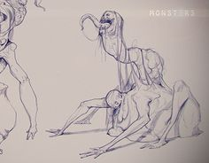 """Check out new work on my @Behance portfolio: """"Monsters (sketches)"""" http://be.net/gallery/34251095/Monsters-(sketches)"""