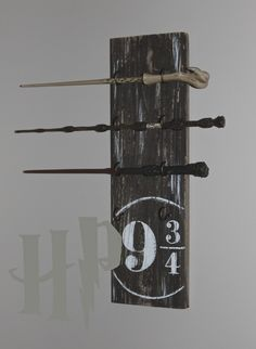 harry potter wand stand.