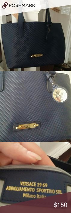 Versace bag Reposhing  very nice used condition 1 small scratch. No dust bag abbligamento bag Bags