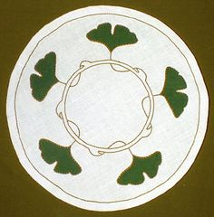 "Ginkgo Round Table Linen kit, 22"" diameter"
