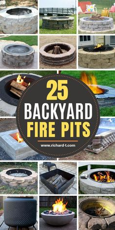 25 Best DIY Fire Pits That You Need To Make - #DIY #Fire #Pits Fire Pit Seating, Fire Pit Area, Backyard Seating, Backyard Landscaping, Landscaping Ideas, Seating Areas, Diy Fire Pit, Fire Pit Backyard, Barrel Fire Pit